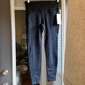 Athleta Herringbone metro leggings